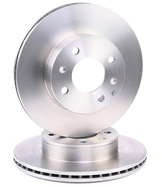 Brake discs and rotors BREMBO 1657519 Internally Vented, High-carbon
