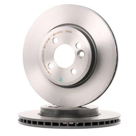 BREMBO COATED DISC LINE Innenbelüftet, beschichtet, hochgekohlt 09A76111