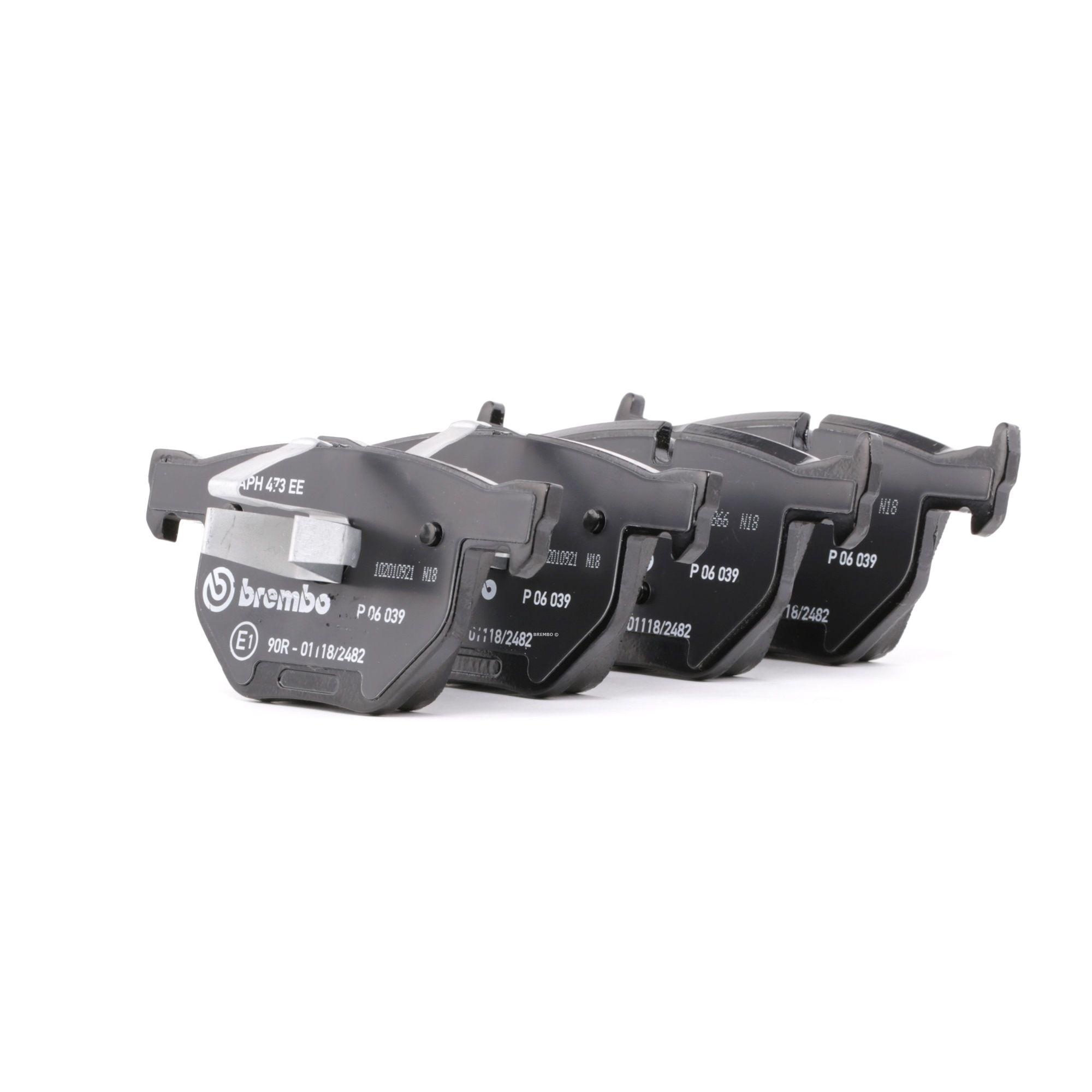 Disk brake pads BREMBO D11707427 rating