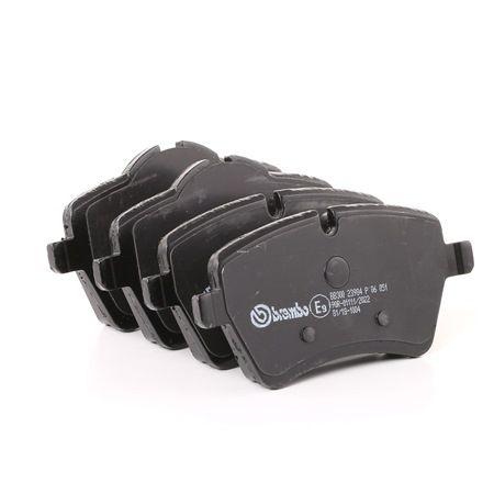 OEM Brake Pad Set, disc brake BREMBO 8423D1308 for MINI