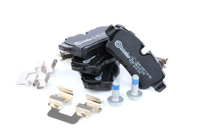 brembo kit de plaquettes de frein frein disque essieu arri re p 06 052 pas cher. Black Bedroom Furniture Sets. Home Design Ideas