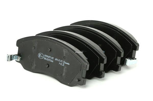 BREMBO mit akustischer Verschleißwarnung P10003