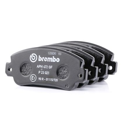 OEM Brake Pad Set, disc brake BREMBO 7301D413 for LANCIA