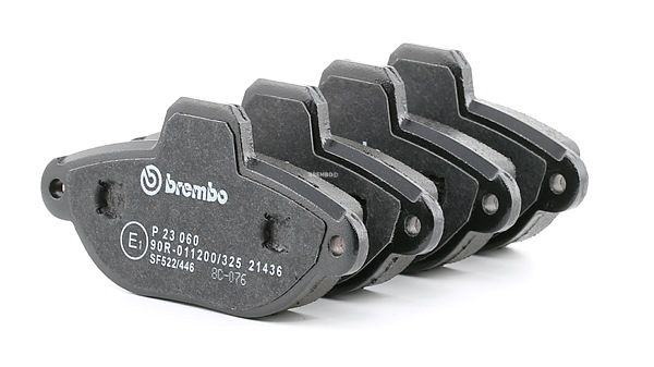 OEM Bremsbelagsatz, Scheibenbremse BREMBO D16198831 für LANCIA