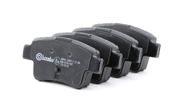 OEM Brake Pad Set, disc brake BREMBO 8746D1537 for ABARTH