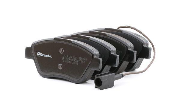 Bremsbelagsatz, Scheibenbremse Breite: 122,8mm, Höhe: 53,3mm, Dicke/Stärke: 17,8mm mit OEM-Nummer 77364874