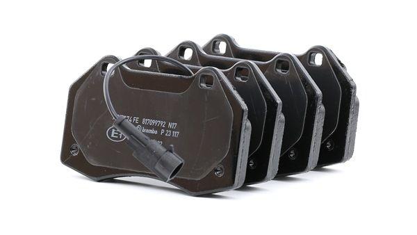 OEM Brake Pad Set, disc brake BREMBO 24162 for ABARTH