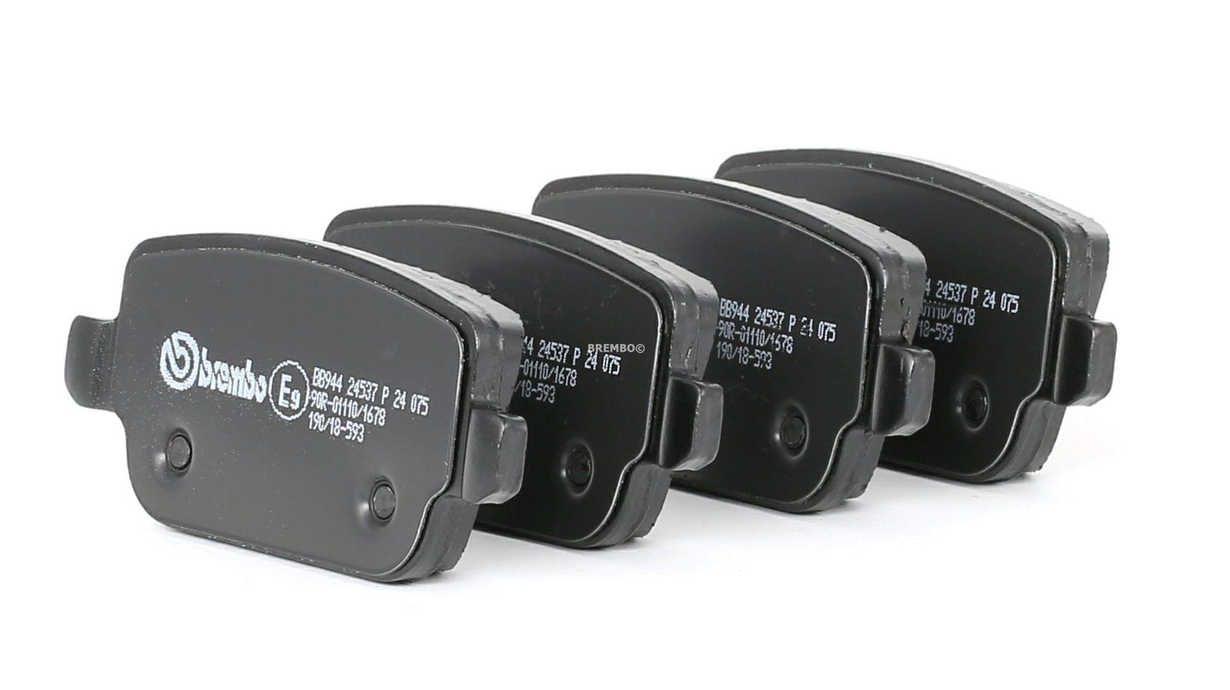 Disk brake pads BREMBO 24537 rating