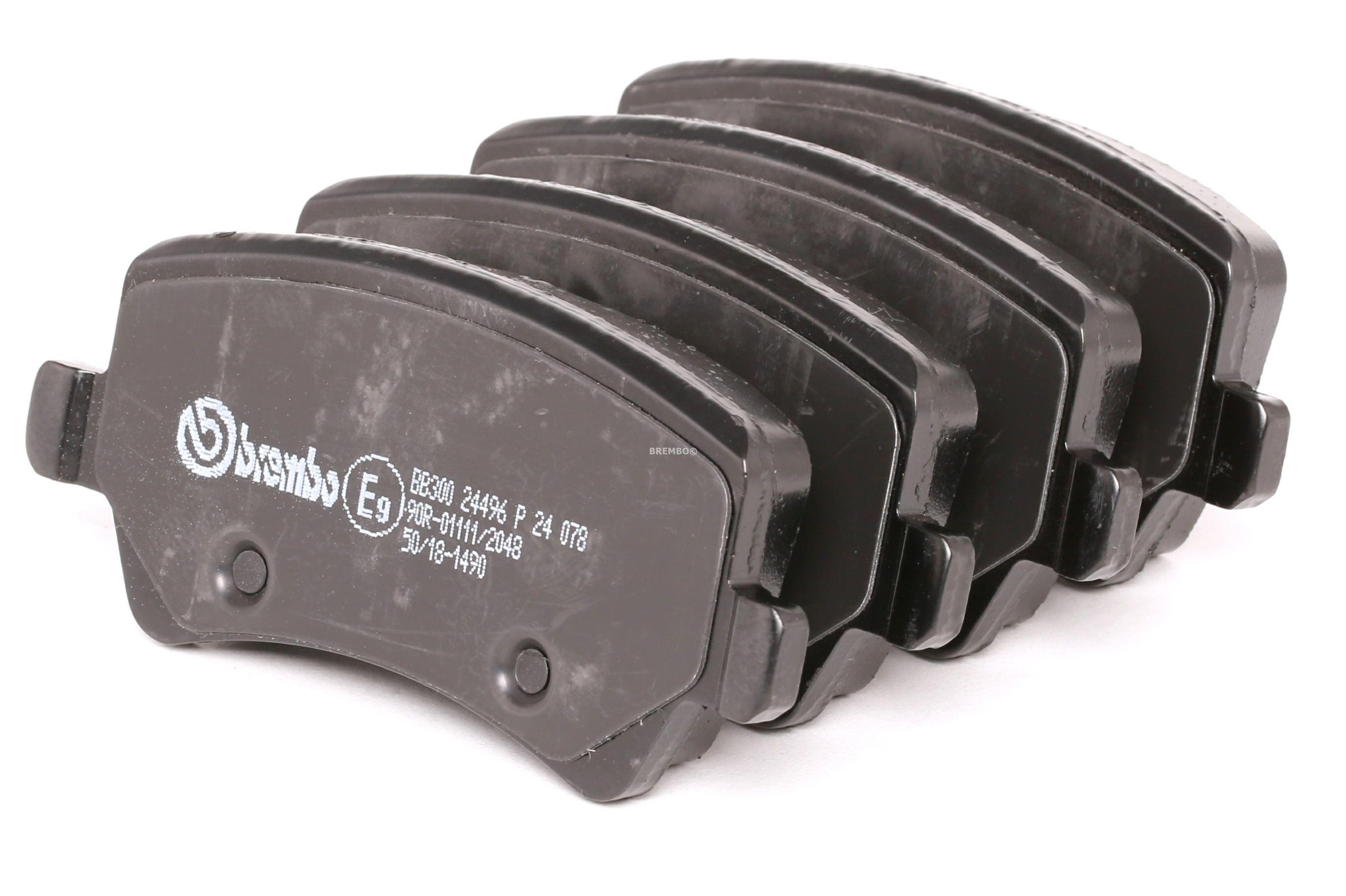 Disk brake pads BREMBO 24496 rating