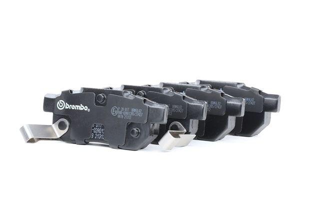 OEM Brake Pad Set, disc brake BREMBO D3747233 for MG
