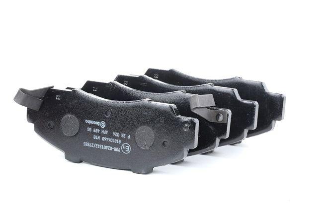 OEM BREMBO D5037382 HONDA LOGO Brake pad set disc brake