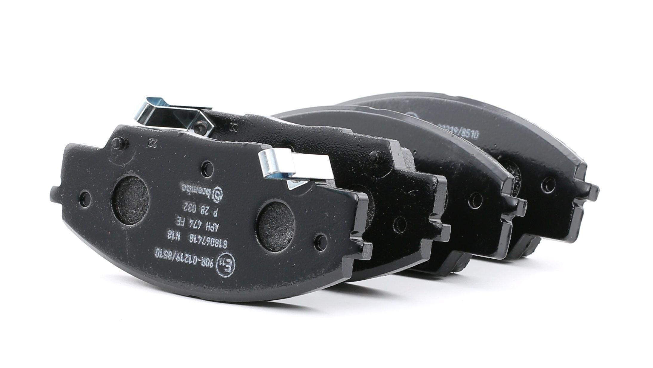 Disk brake pads BREMBO D8297702 rating