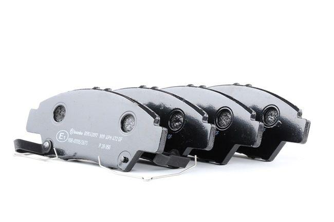 OEM BREMBO 24980 HONDA LOGO Disk brake pads
