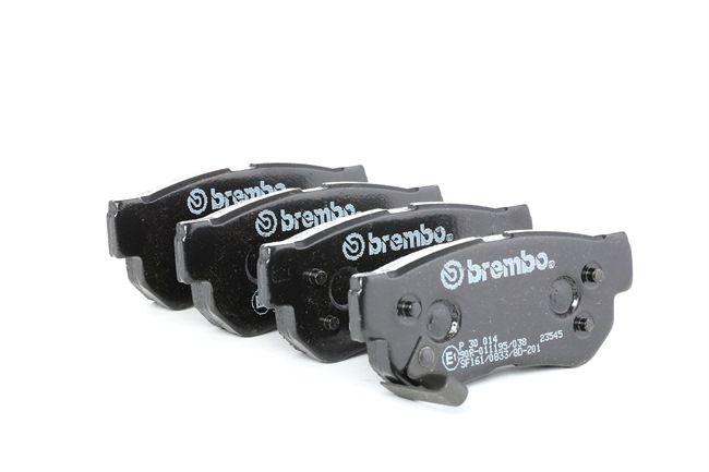 OEM Brake Pad Set, disc brake BREMBO 7688D863 for HYUNDAI