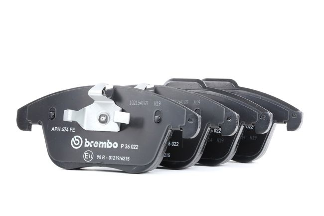 OEM Brake Pad Set, disc brake BREMBO 8358D1241 for JAGUAR