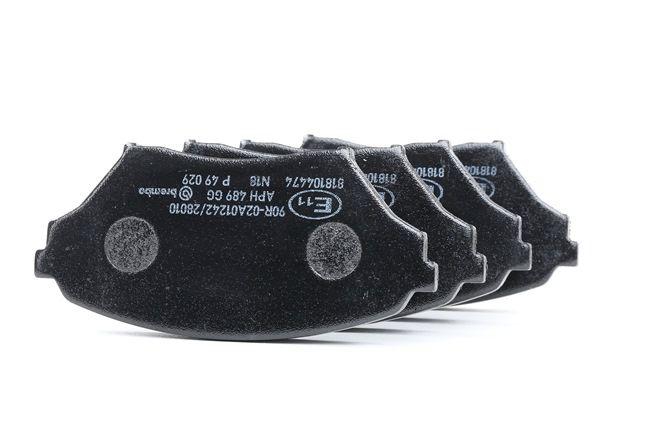 Bremsbelagsatz, Scheibenbremse Breite: 122,9mm, Höhe: 58,4mm, Dicke/Stärke: 15mm mit OEM-Nummer N0Y9-33-23Z