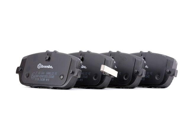 OEM Brake Pad Set, disc brake BREMBO 8296D1180 for ABARTH
