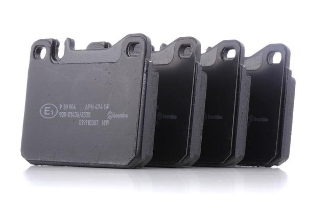 Bremsbelagsatz, Scheibenbremse Breite: 89,8mm, Höhe: 73,8mm, Dicke/Stärke: 17,5mm mit OEM-Nummer A 000 420 95 20