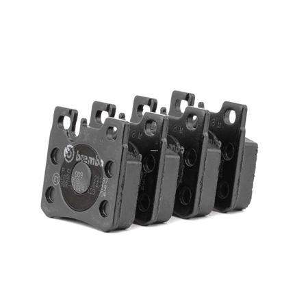 Bremsbelagsatz, Scheibenbremse Breite: 62,1mm, Höhe: 58,34mm, Dicke/Stärke: 15mm mit OEM-Nummer A00 142 09520