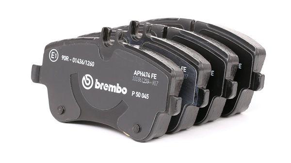 Kit de plaquettes de frein, frein à disque MERCEDES-BENZ | BREMBO N° d'article: P 50 045