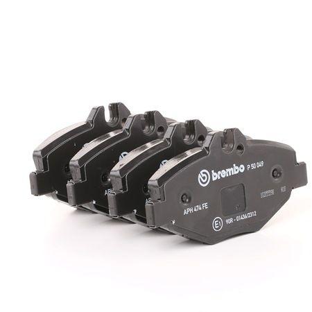 OEM Brake Pad Set, disc brake BREMBO 8517D987 for MERCEDES-BENZ