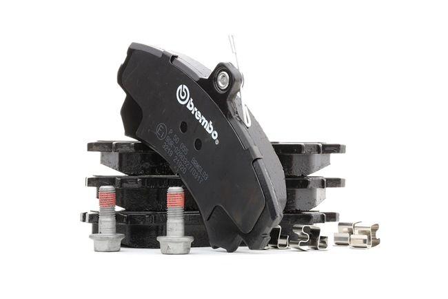OEM Brake Pad Set, disc brake BREMBO 8694D1494 for MITSUBISHI