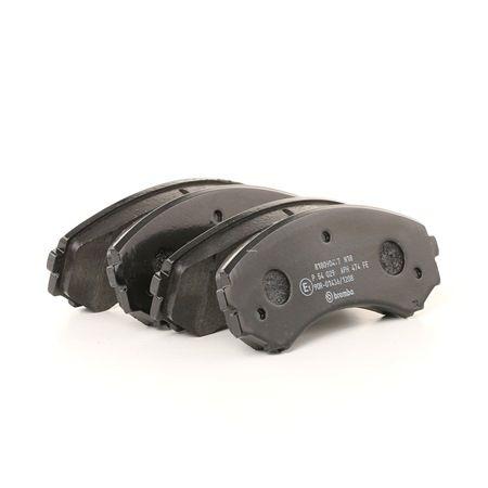 Brake Pad Set, disc brake Article № P 54 029 £ 150,00