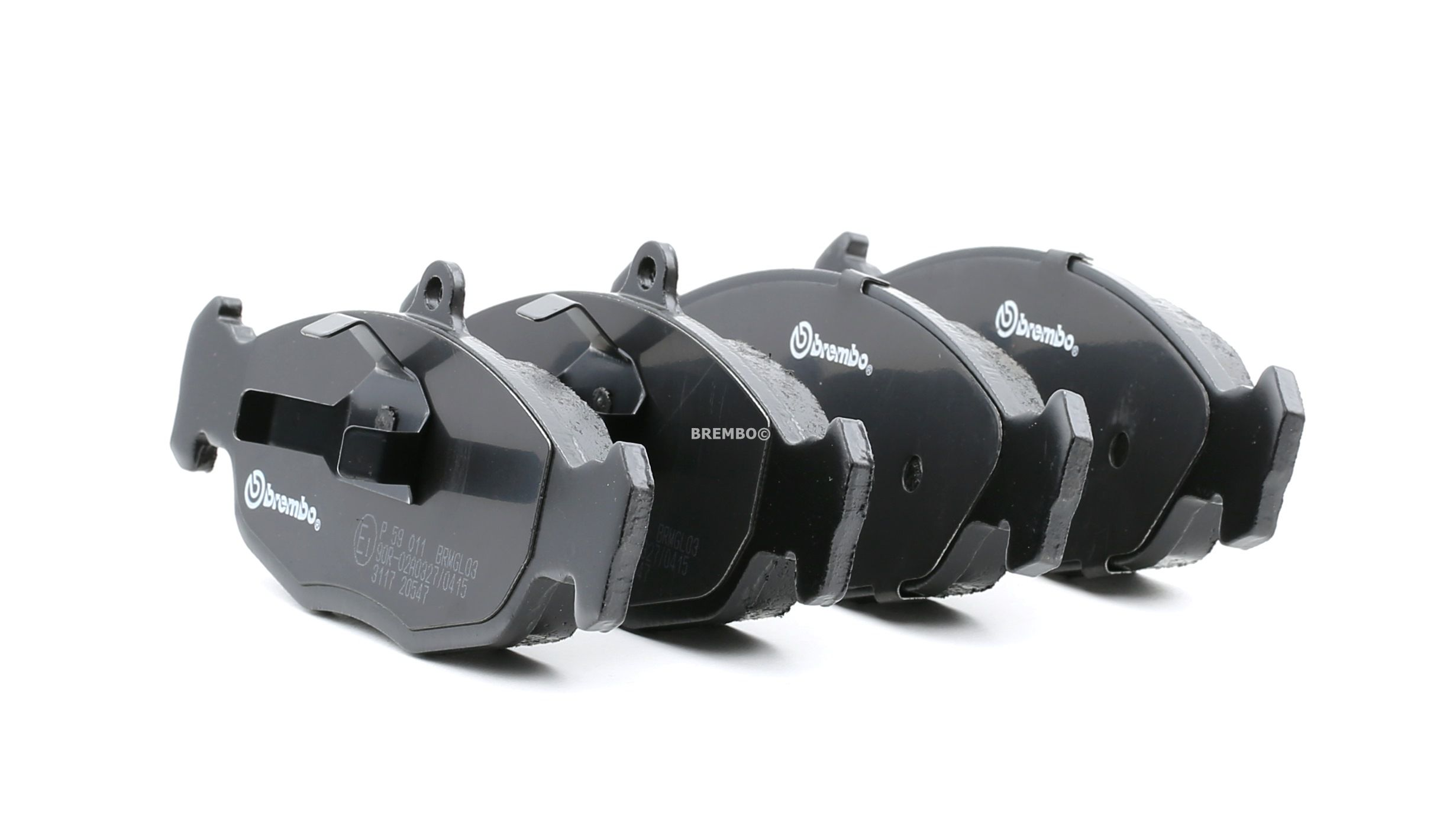 Комплект спирачно феродо, дискови спирачки BREMBO 7563D688 оценка