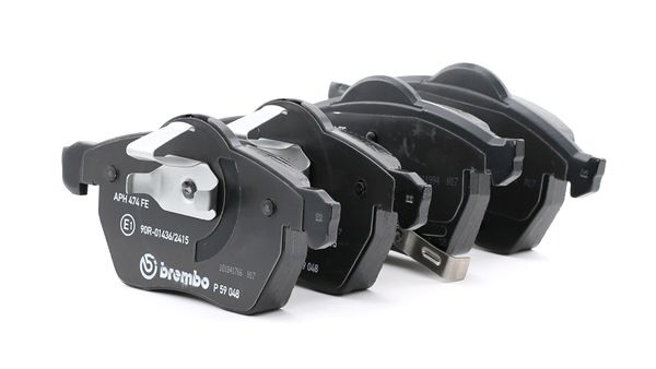OEM Brake Pad Set, disc brake BREMBO D9367605 for SAAB