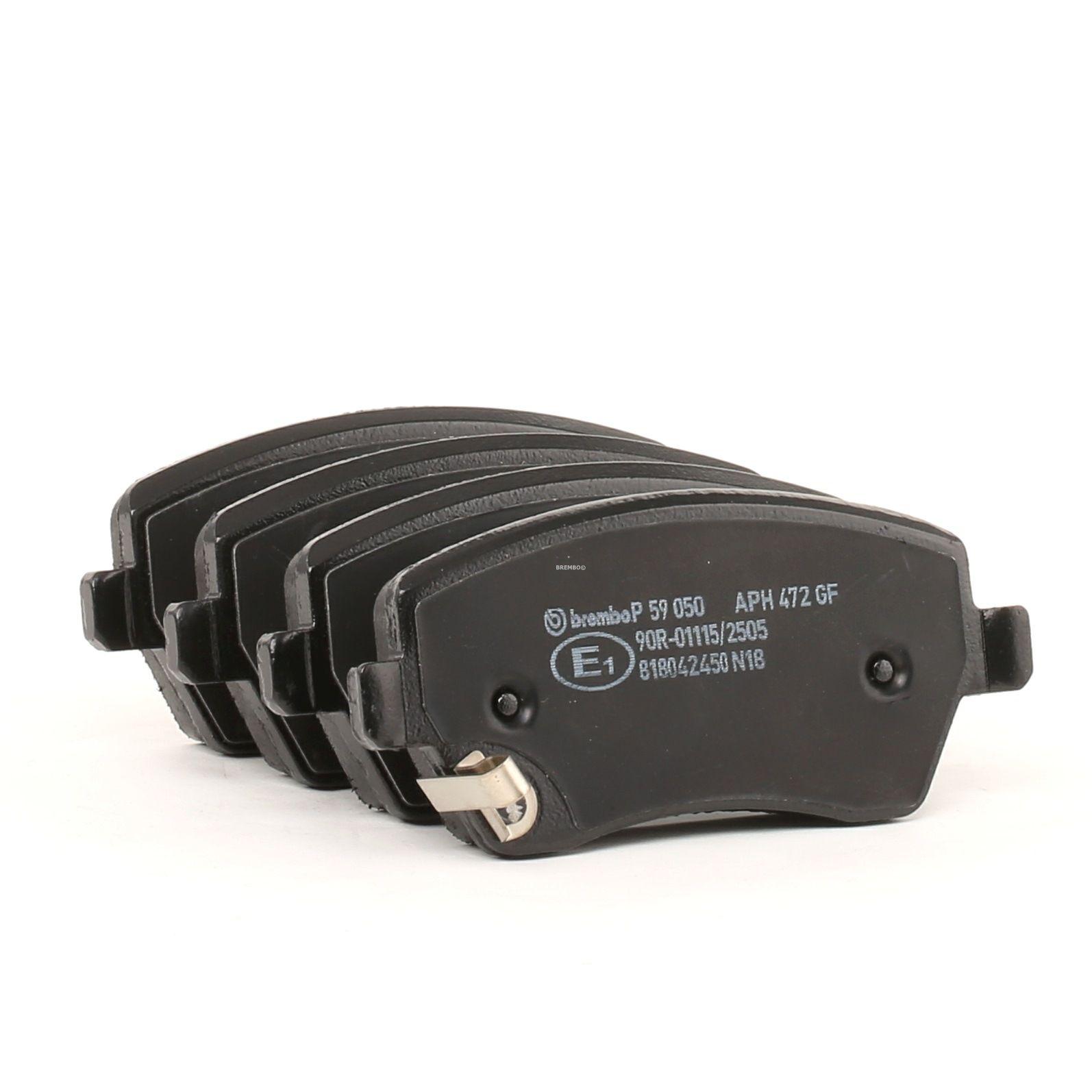 Disk brake pads BREMBO D14918691 rating