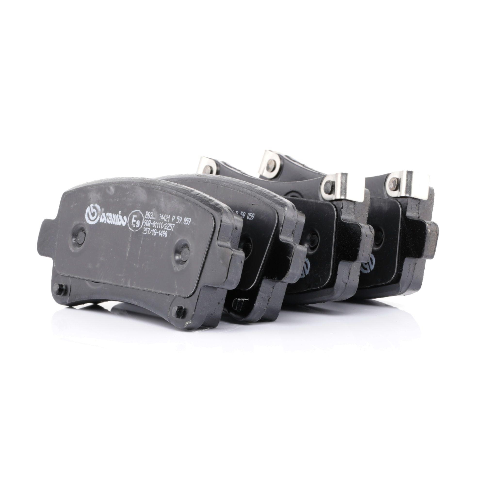 Disk brake pads BREMBO 24421 rating