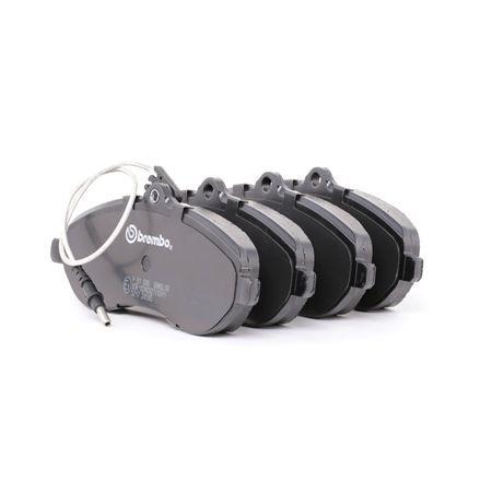 OEM Brake Pad Set, disc brake BREMBO D21249360 for TOYOTA