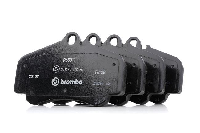 Bremsbelagsatz, Scheibenbremse Breite: 140mm, Höhe: 88,5mm, Dicke/Stärke: 17mm mit OEM-Nummer 996.351.949.10