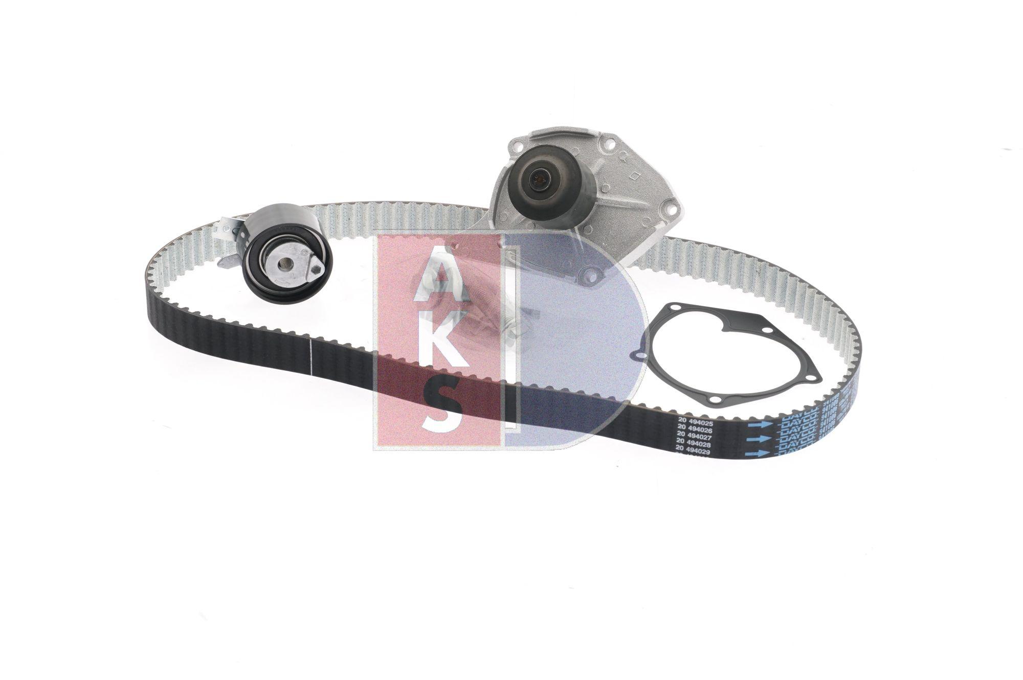Nissan Almera n16 1.5dCi Wasserpumpe + Zahnriemensatz AKS DASIS 570257N (1.5 dCi Diesel 2006 K9K 722)
