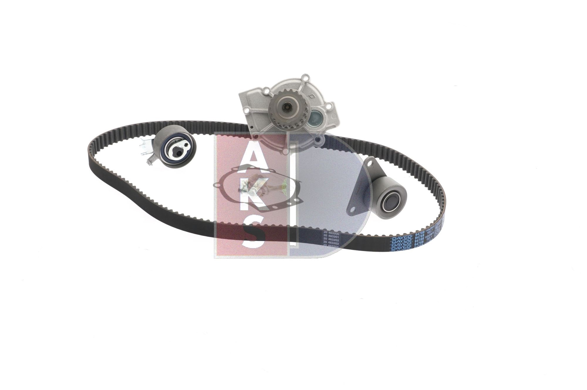 Water pump and timing belt kit 570345N V70 2 (SW) 2.5 T AWD MY 2003