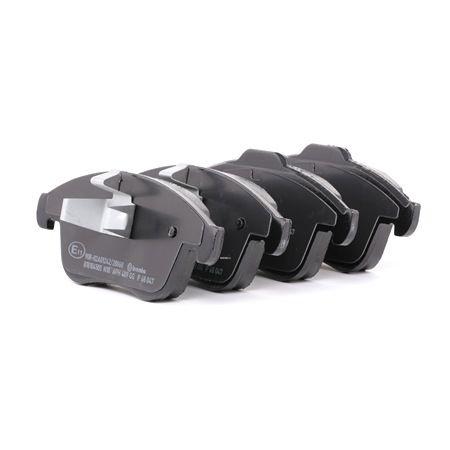 OEM Brake Pad Set, disc brake BREMBO D17658984 for RENAULT