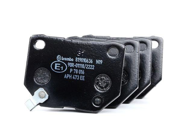 OEM Brake Pad Set, disc brake BREMBO 8299D461 for SUBARU