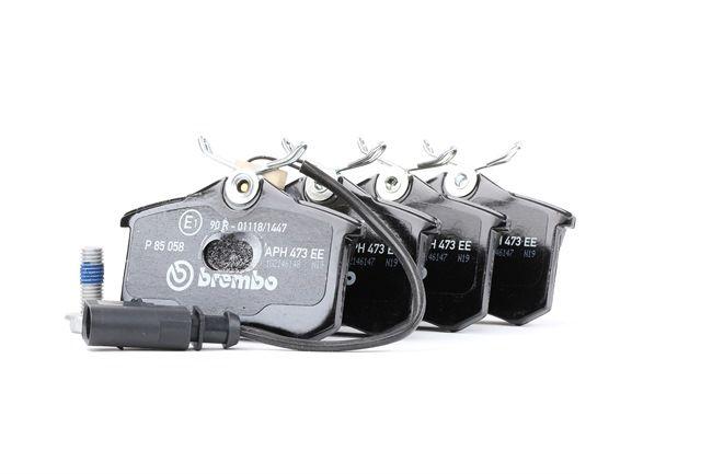 Bremsbelagsatz, Scheibenbremse Breite: 87mm, Höhe: 53mm, Dicke/Stärke: 17,2mm mit OEM-Nummer 1 343 513