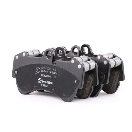 OEM Brake Pad Set, disc brake BREMBO 7911D1007 for PORSCHE