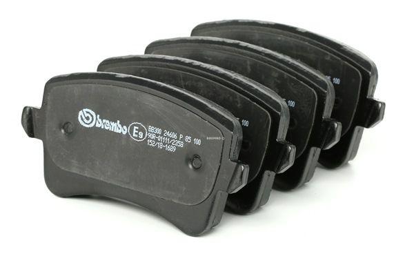 Bremsbelagsatz, Scheibenbremse Breite: 116,6mm, Höhe: 59mm, Dicke/Stärke: 17,7mm mit OEM-Nummer 8K0698451E