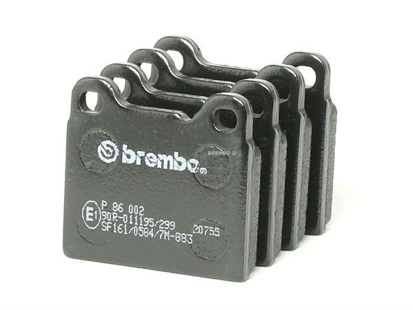 OEM Brake Pad Set, disc brake BREMBO 7736D861 for VOLVO