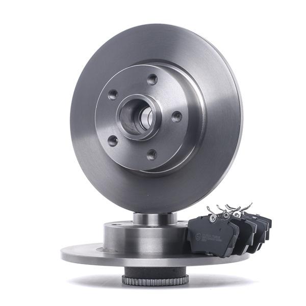STARK Hinterachse, Voll, exkl. Verschleißwarnkontakt, mit ABS-Sensorring, mit Radlagersatz SKBK10990964