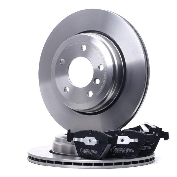 RIDEX Bremsscheiben und Beläge 3405B0993
