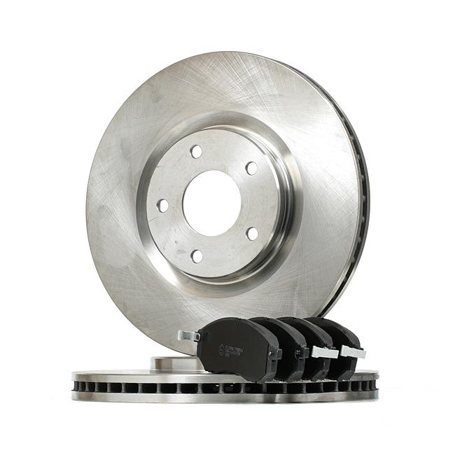 STARK Vorderachse, Innenbelüftet, mit akustischer Verschleißwarnung SKBK10991006