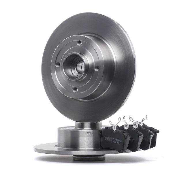 STARK mit Zubehör, Hinterachse, Voll, nicht für Verschleißwarnanzeiger vorbereitet, mit integriertem magnetischen Sensorring, mit Radlager SKBK10991303