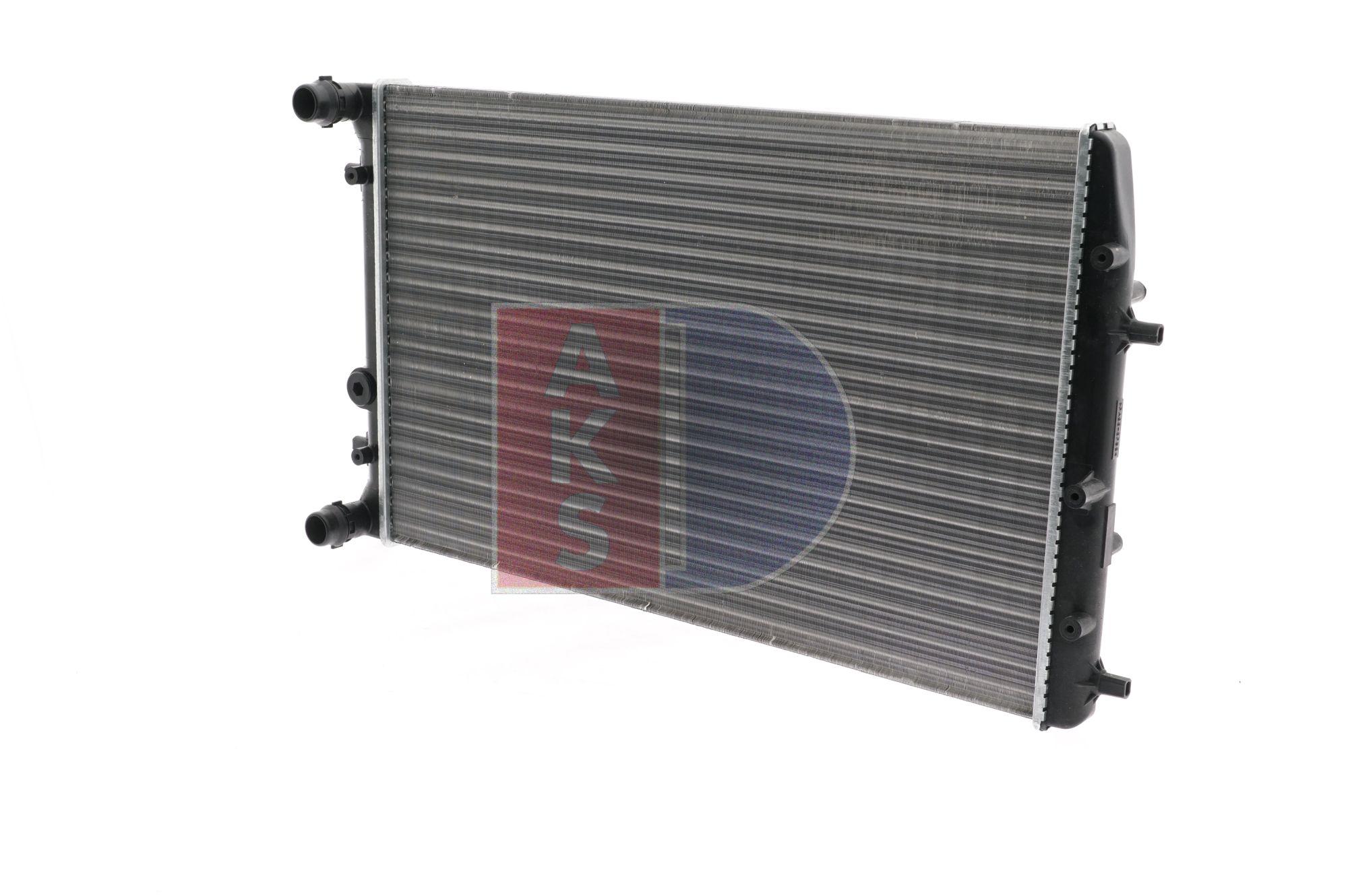 OEM Radiator, engine cooling AKS DASIS 1719544 for JEEP