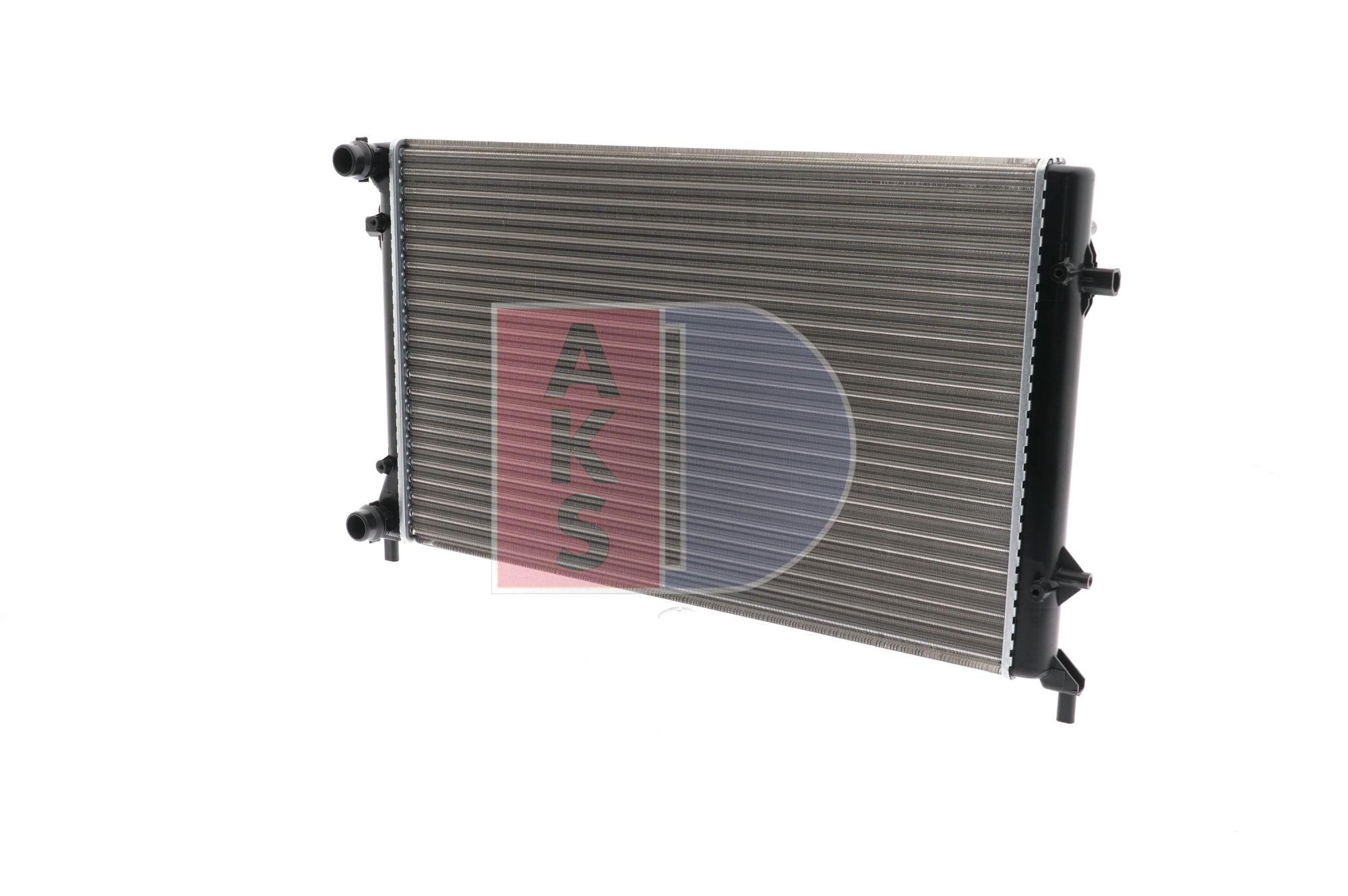 OEM Radiator, engine cooling AKS DASIS 1719558 for JEEP