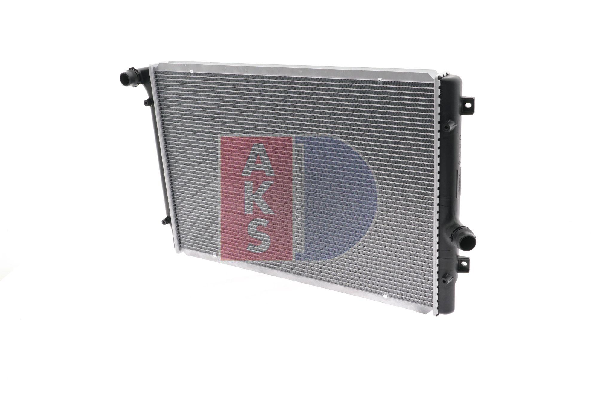 Kühler, Motorkühlung Netzmaße: 647x440x32 mit OEM-Nummer 1K0 121 251DD