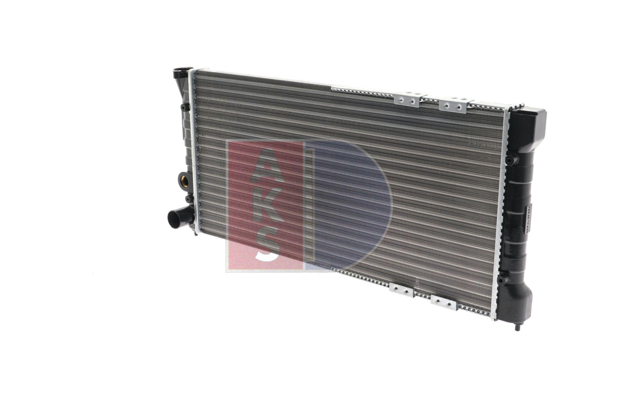 OEM Radiator, engine cooling AKS DASIS 1719649 for JEEP