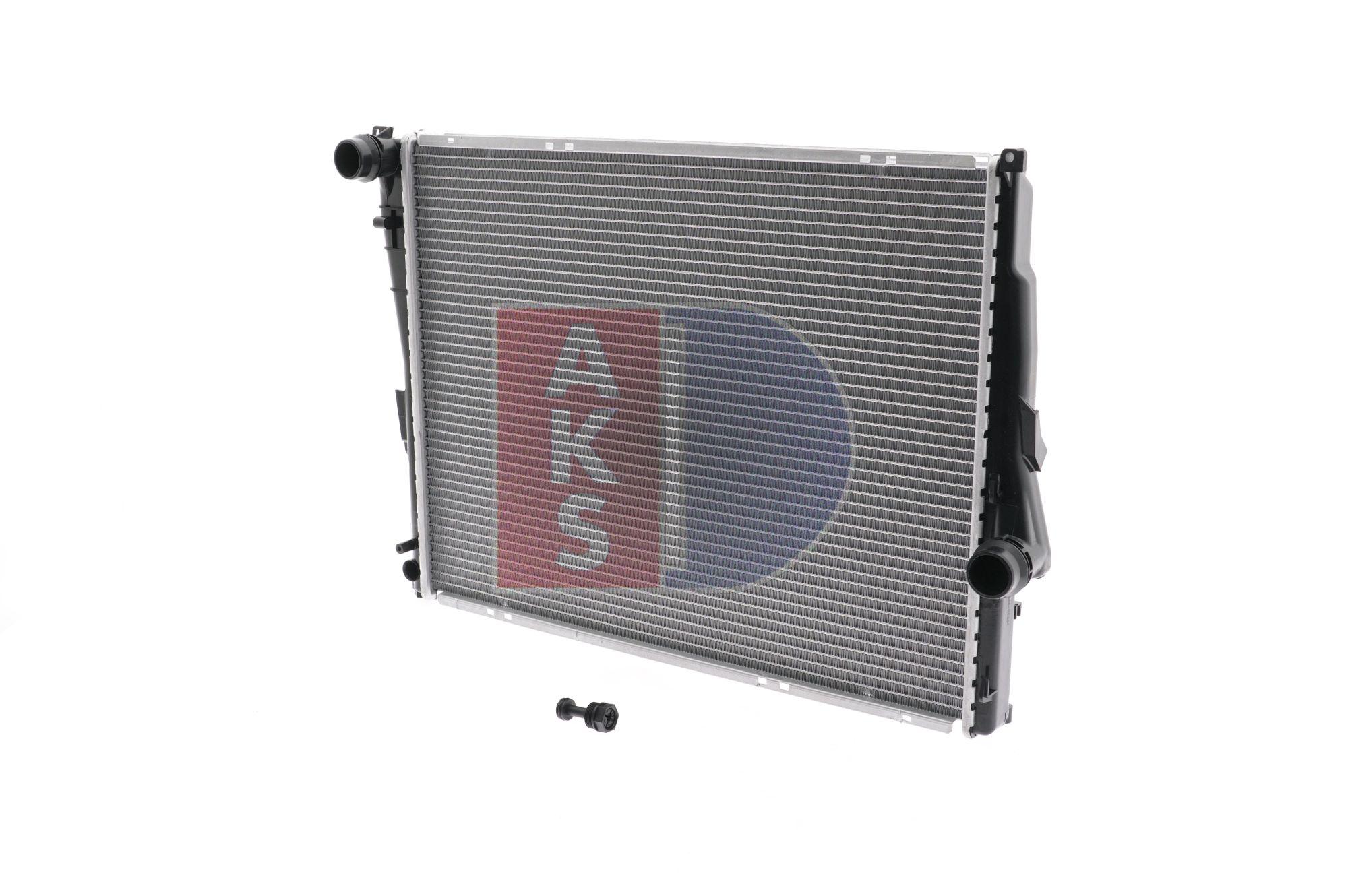 Radiateur, refroidissement du moteur Dimension du radiateur: 580x450x30 avec OEM numéro 17 11 1 611 573